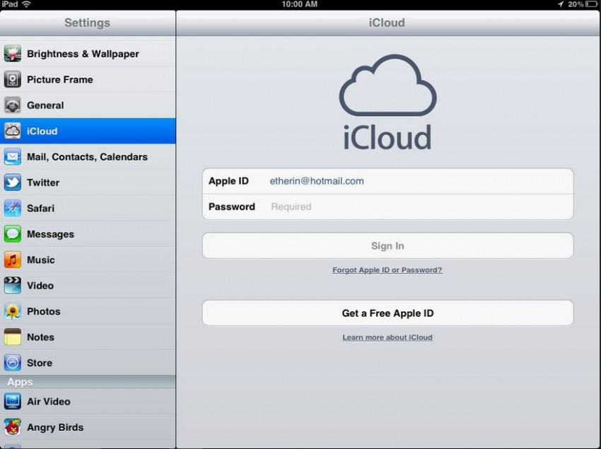 How to transfer contacts from iPad to iPhone-turn on contacts on iPad