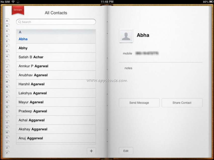 How to transfer contacts from iPad to iPhone-sync to iphone