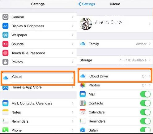 Transfer contacts from iPhone to iPhone-icloud