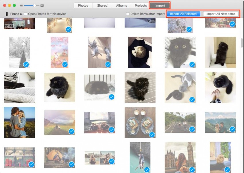 How to delete iPhone photos one by one