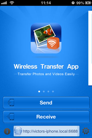 Transfer video from iPhone - with an app