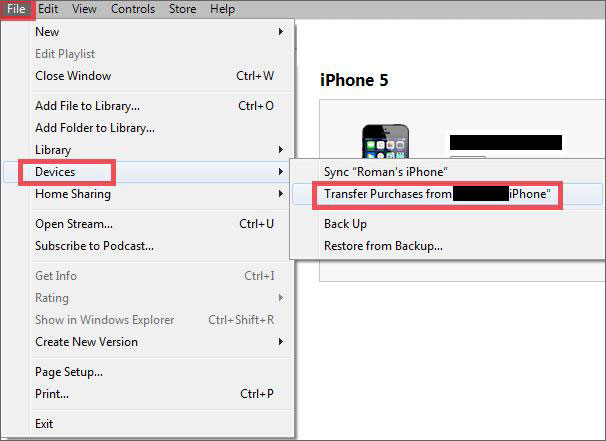 How to transfer music from iPhone to computer-transferring purchased music