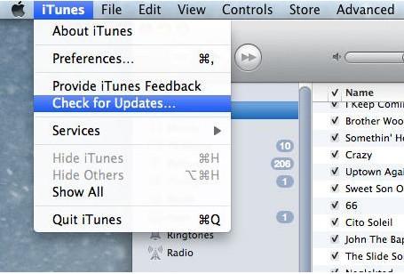 O que fazer quando não se consegue transferir músicas para o iPhone-atualizando o iTunes