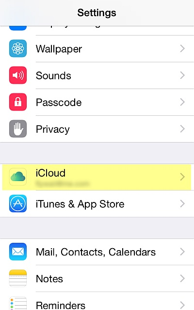 How to backup iPhone contacts-iphone-contact-Step 1