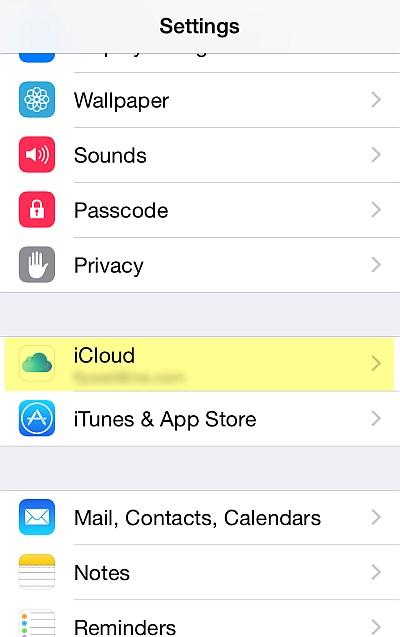 Sicherung von iPhone-Kontakten - Telefon-Kontakt -Schritt 1