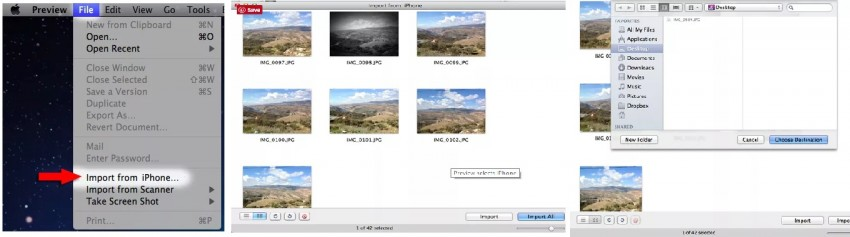 How to sync pictures from iPhone to Mac-Preview - Part 3
