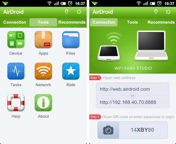 Top 20 Samsung Transfer Tools to backup samsung data-airdroid