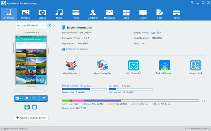 20 meilleurs outils de transfert de Samsung pour sauvegarder les données Samsung-