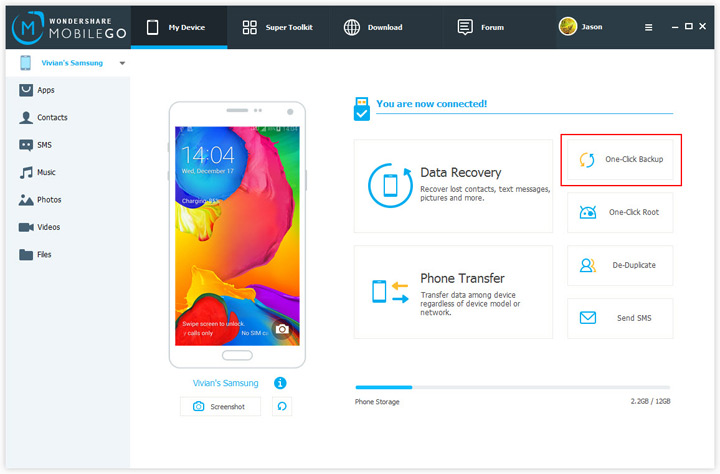 Top 20 Samsung Transfer Tools to backup samsung data-Mobilego