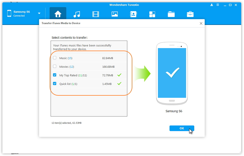 Top 20 Samsung Transfer Tools to backup samsung data-Tunesgo
