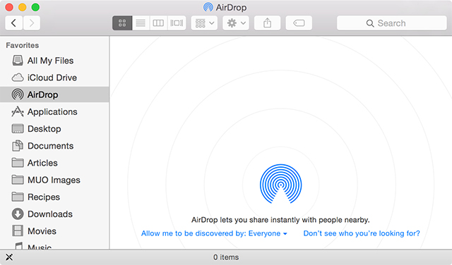 How to transfer photos from ipad to Mac-Open Finder - Step 1