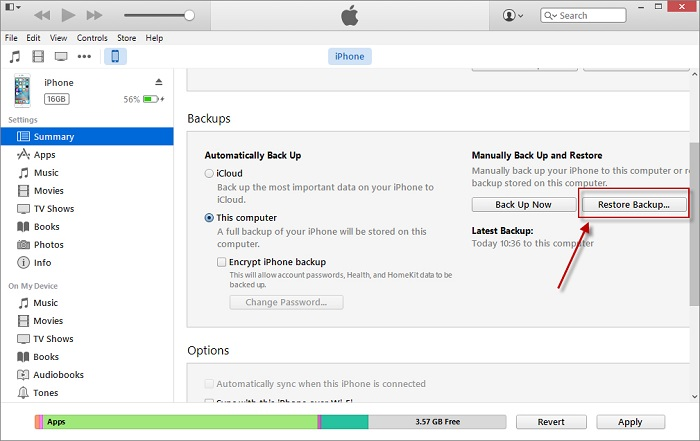 How to Restore Notes from iCloud-Restore Backup