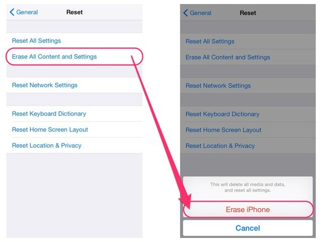 How to Restore Notes from iCloud-reset