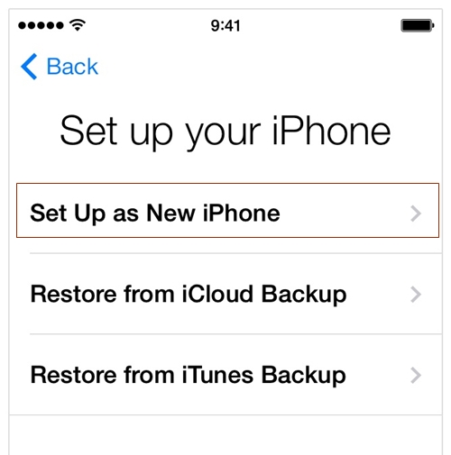 how to get apps back on iphone after backup