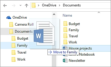 How to Backup Files to Onedrive -Transfer content