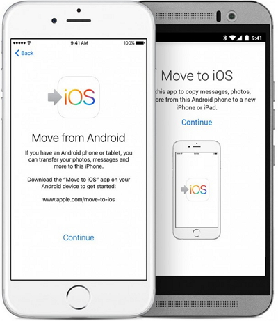 chat Whatsapp da Android ad iPhone -Move to iOS