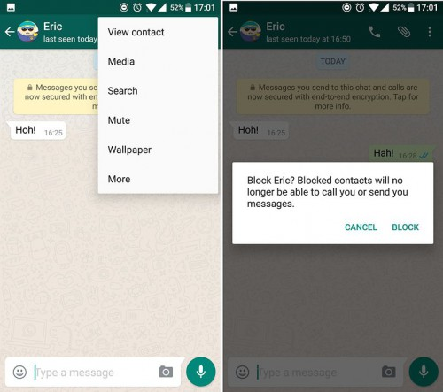 Whatsapp tips and tricks-WhatsApp blocking