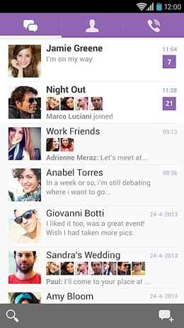 top 15 whatsapp alternatives-Viber