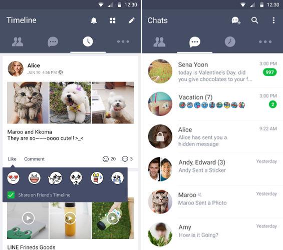 top 15 whatsapp alternatives-Line