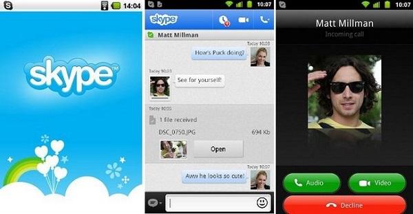 top 15 whatsapp alternatives-Skype