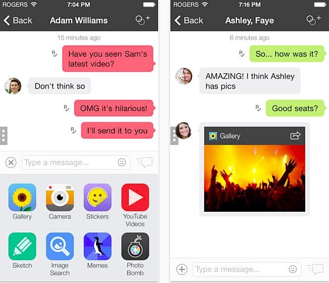 top 15 whatsapp alternatives-Kik Messenger