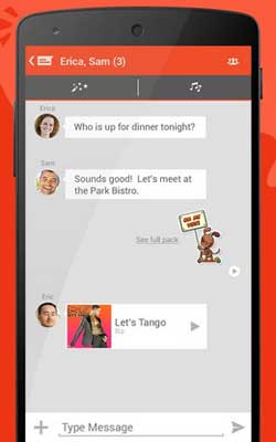 top 15 whatsapp alternatives- Tango