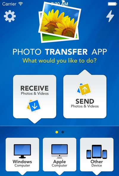 Transfer photos from iPhone to iPod Touch-Photo Transfer App