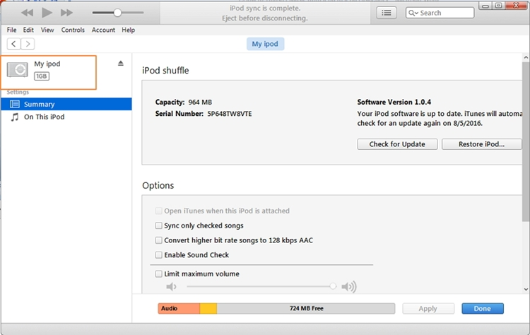Extract Music from iPod to PC-Transfer purchased music