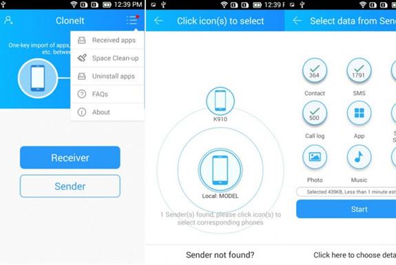 Top 4 Samsung File Transfer apps (between two Samsung devices)