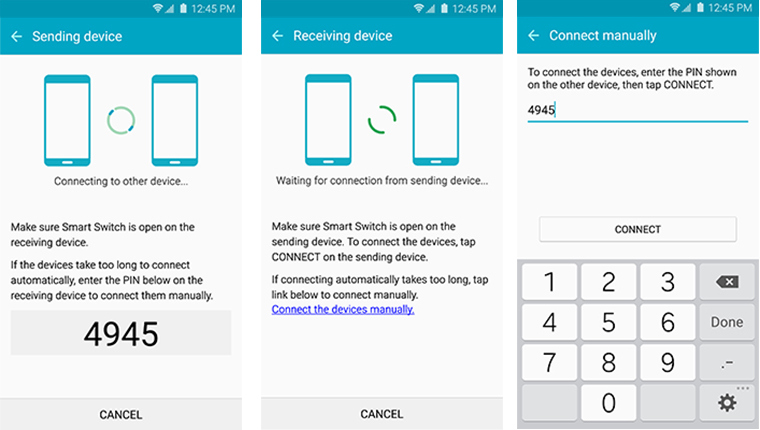 how to transfer with Samsung switch mobile transfer