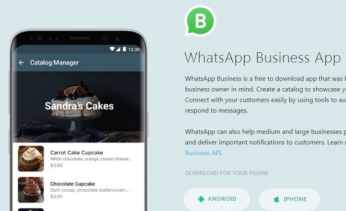 add whatsapp business number 1
