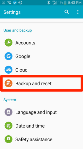 backup contacts 3