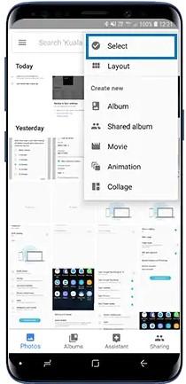 backup delle foto Samsung 6