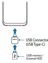 samsung s21 احتياطيًا إلى وحدة تخزين خارجية 1