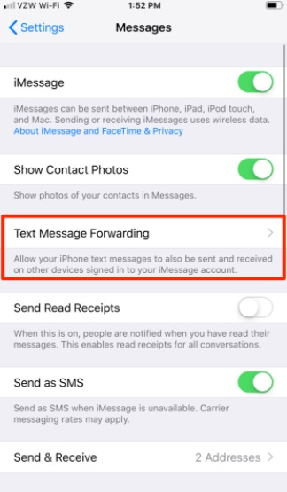backup text messages iphone 5