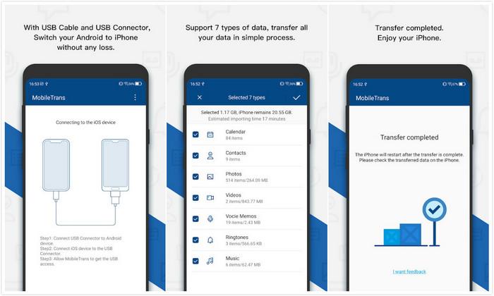 data transfer app mobiletrans to ios
