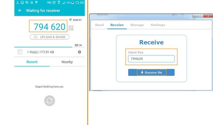 data transfer app send anywhere