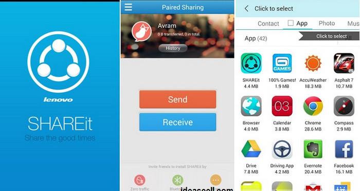data transfer app shareit