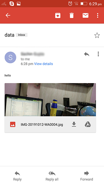 download-data-from-email-to OppO