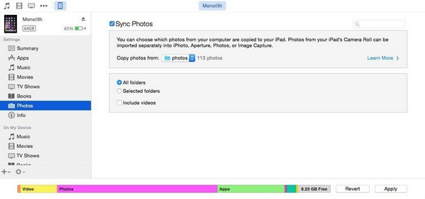 download photos from google drive to iphone 5