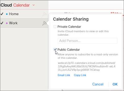 إصلاح تقويم iCloud يتعذر مزامنته