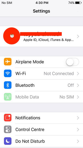 fix icloud contacts not syncing 01