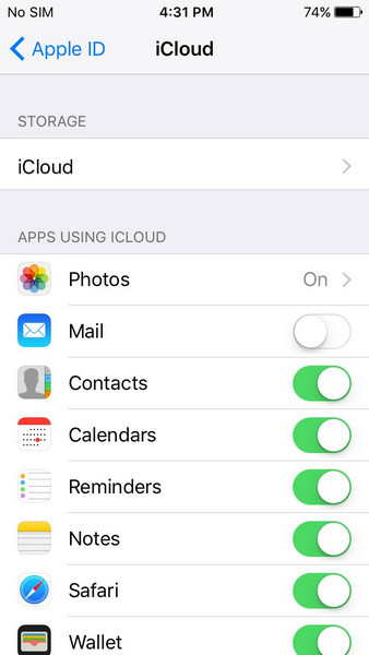 fix icloud contacts not syncing 06