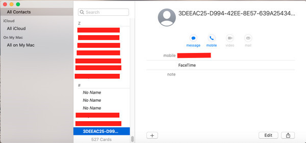fix icloud contacts not syncing 10