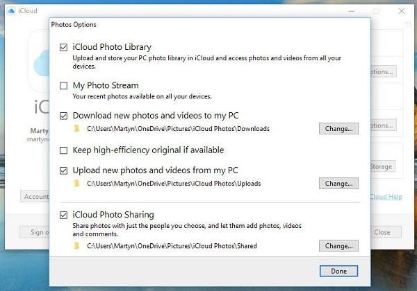 import photos iphone to windows 7