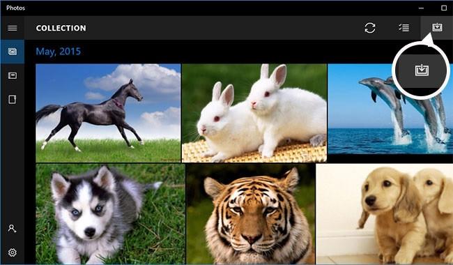import photos iphone to windows 9