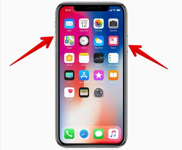 Créer une sauvegarde Kik en prenant une capture d'écran sur iPhone X
