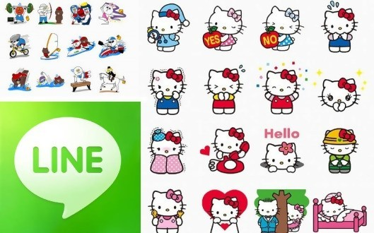 line messenger app sticker