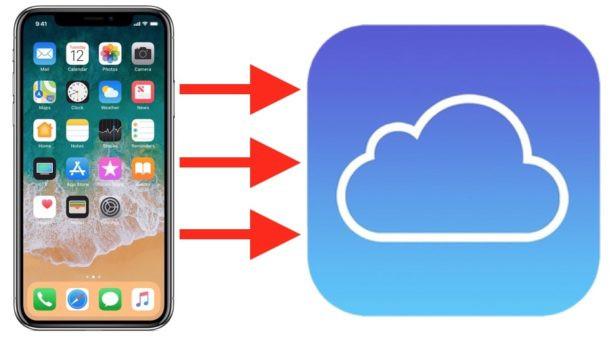 move photos iphone to icloud 1