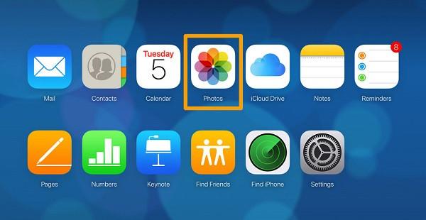 Movendo fotos do iPhone para o iCloud 3